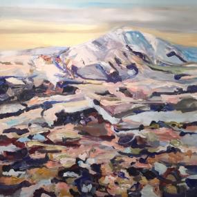 Icelandic landscape - winter