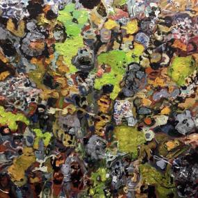 Moss in lava
